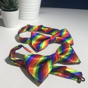 Accessories - Pair of Rainbow PRIDE Bow ties 🌈